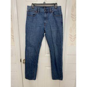 J. Crew The Driggs 31x30 Slim Denim Jeans